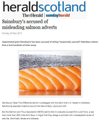 Sainsburys ASA 2013 Herald