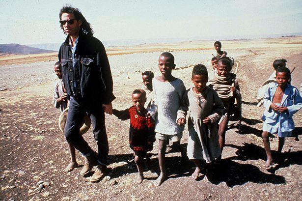 Geldof Africa