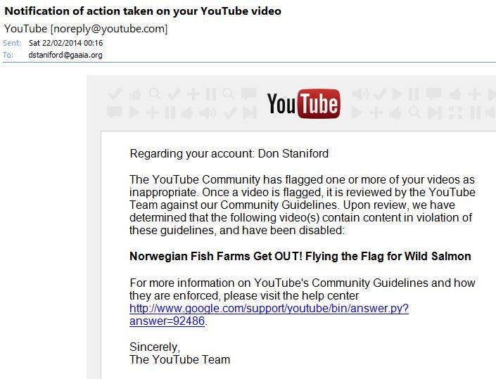 You Tube censored #3