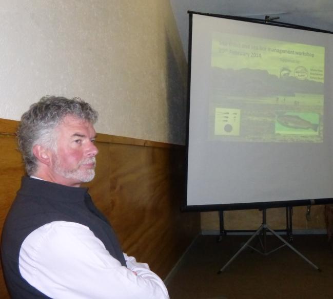 Costello Feb 2014 talk photo of Mark