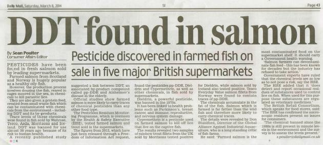 Daily Mail 8 March 2014 full article