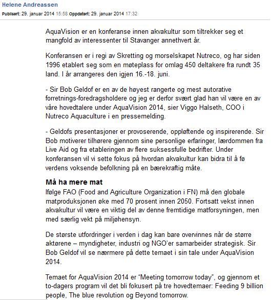 Geldof Aftenbladet #2