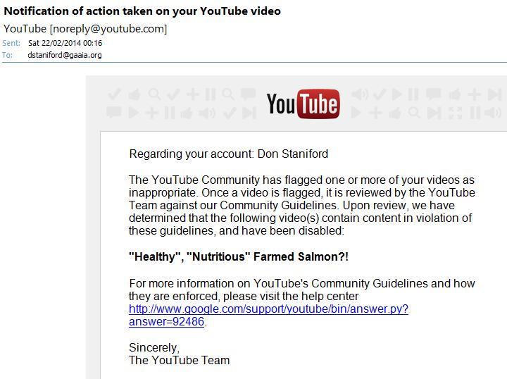 You Tube censored #2