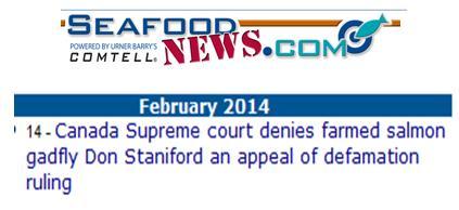 Seafood News gadfly 14 Feb 2014
