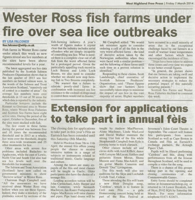 WHFP 7 March 2014