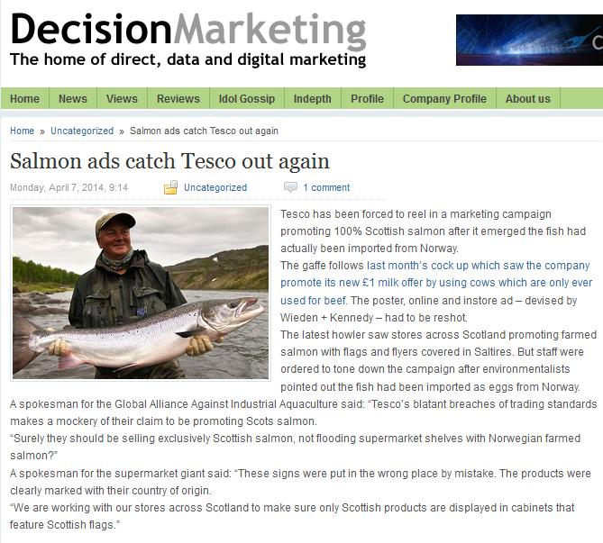 Decision Marketing 7 April 2014