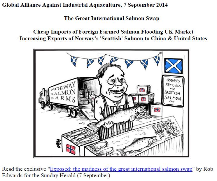 Salmon Swap PR & Media Backgrounder 7 September 2014 graphic #1
