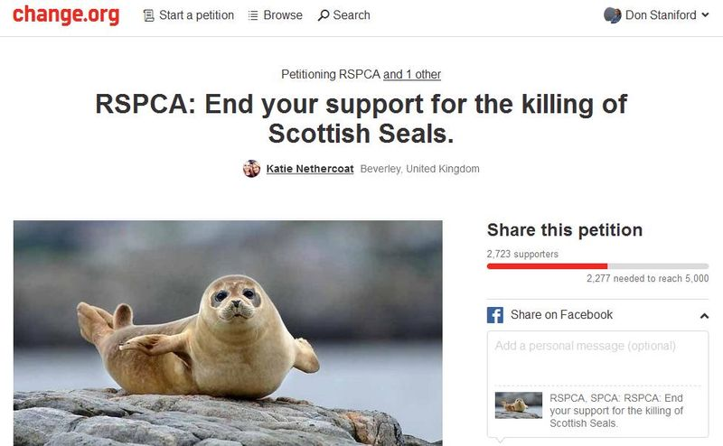 Petition Change RSPCA 23 Nov 2015