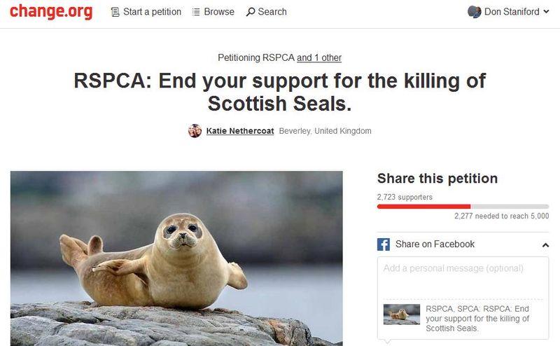 Petition Change RSPCA 23 Nov 2015