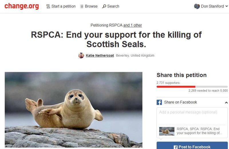 Petition Change RSPCA 8 Dec 2015 #1