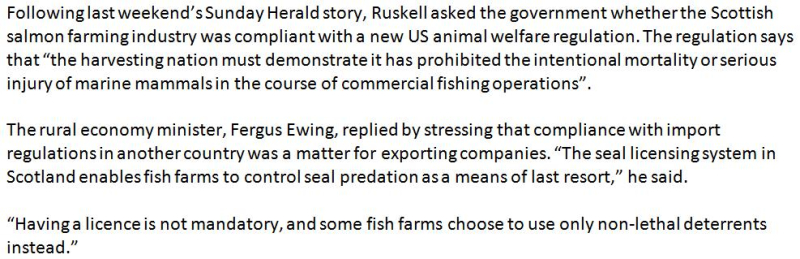 Sunday Herald 18 Sept 2016 #ewing quote