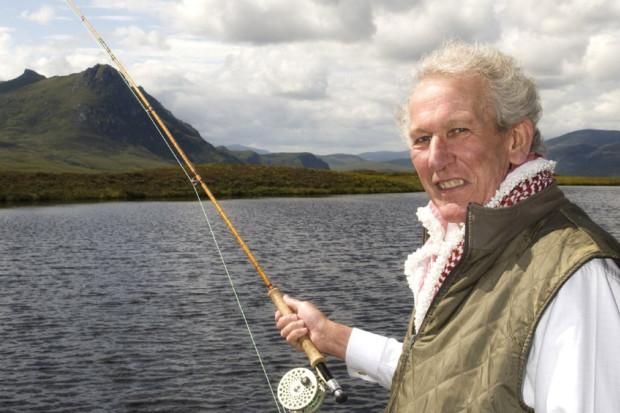 Bruce fishing photo