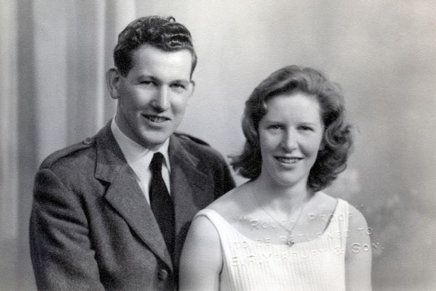 Bruce Sandison and wife Ann