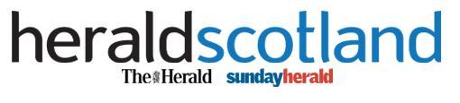 Sunday Herald 6 November banner