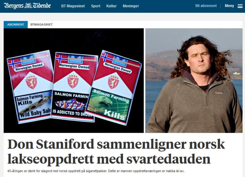 Bergens Tidende 12 Feb 2017 website