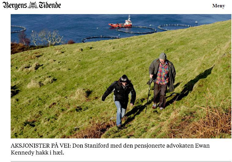 Bergens Tidende 12 Feb 2017 Ewan & Don