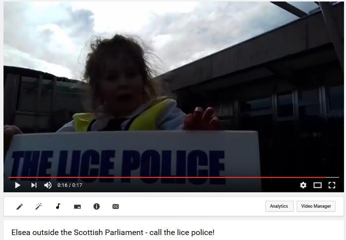 Video Elsea Lice Police photo