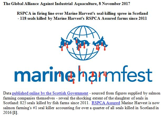 PR RSPCA in Firing Line over MH 8 Nov 2017 #1