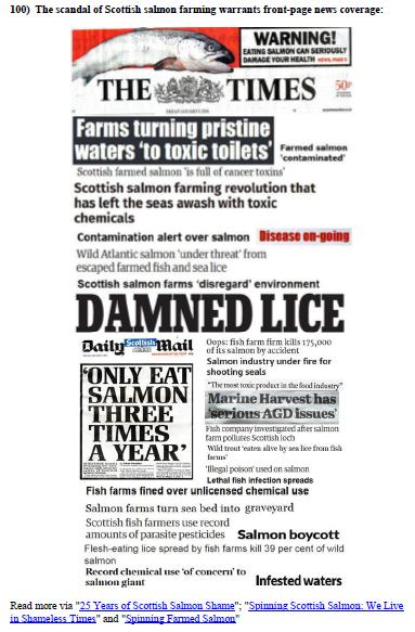 Scottish Salmon Farming 101 #7 reason 100