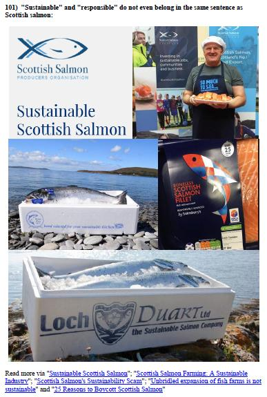 Scottish Salmon Farming 101 #8 reason 101