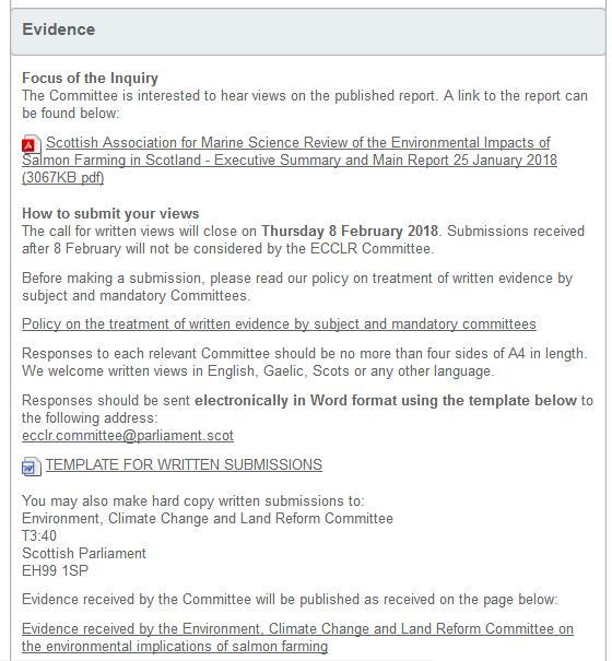 SP inquiry #4 evidence