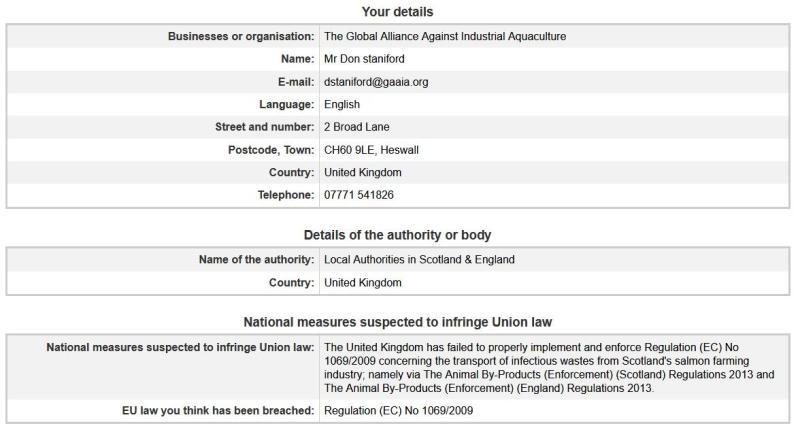 EC Complaint form 31 Jan 2018 #1