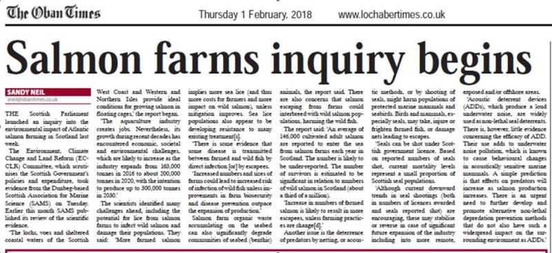Oban Times 1 Feb 2018