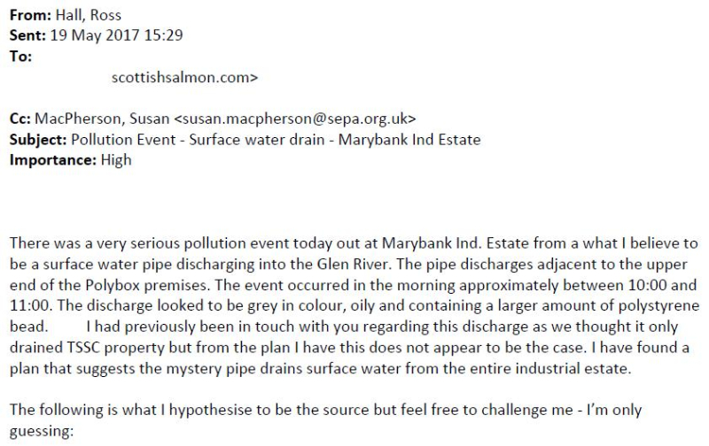 Marybank SEPA email 19 May 2017 #1