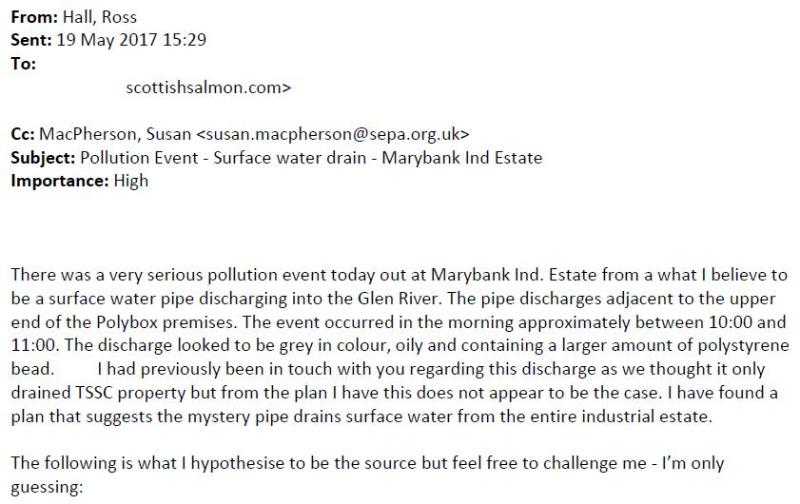 Marybank SEPA email 19 May 2017 #1