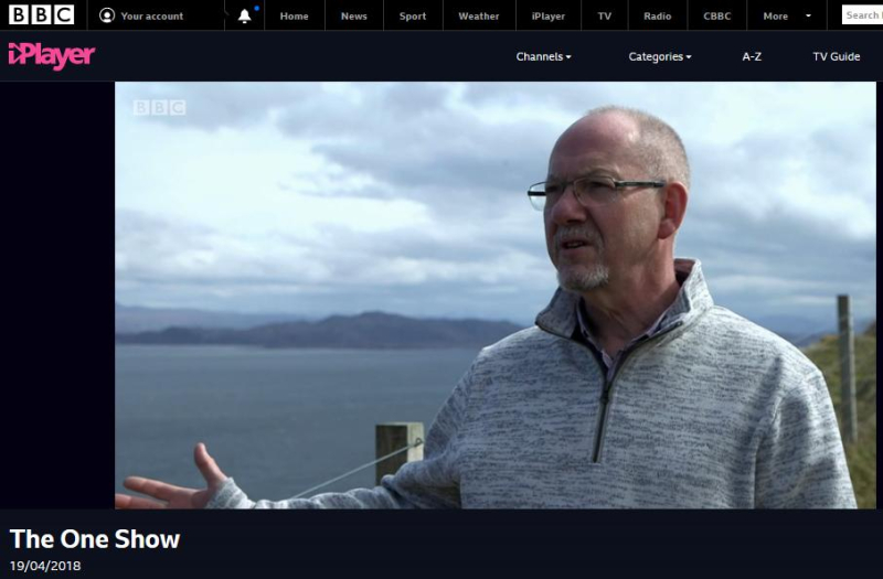 BBC One Show 19 April 2018 #4 Ian Dobbs