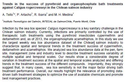 Sea Lice 2014 chile