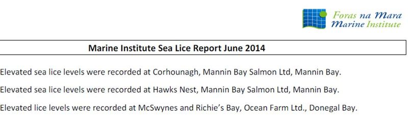 Sea Lice data June 2014 #1