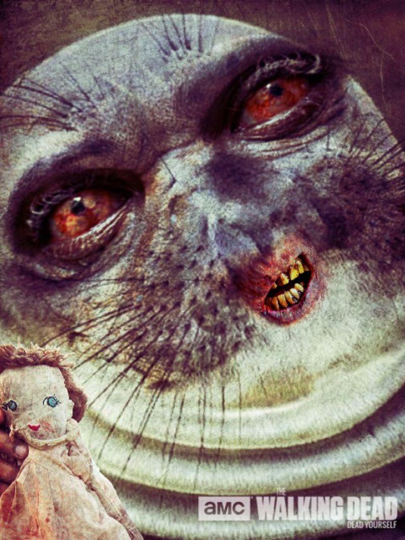 Zombie Seal Walking Dead