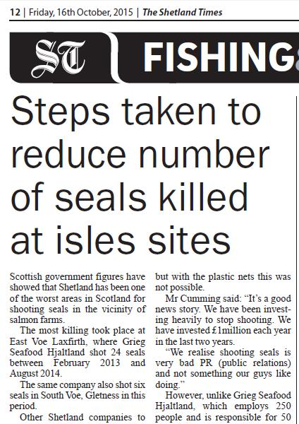 Shetland Times 16 Oct 2015 #1