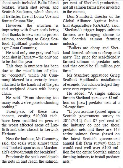 Shetland Times 16 Oct 2015 #2