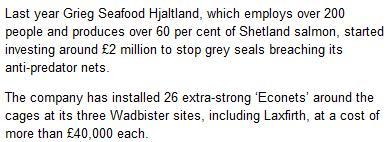 Shetland News 3 Sept 2015 EcoNets
