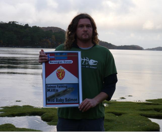 Don Green at Loch Sheildaig