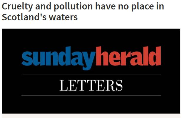 Sunday Herald 11 Sept 2016 #Letter #1