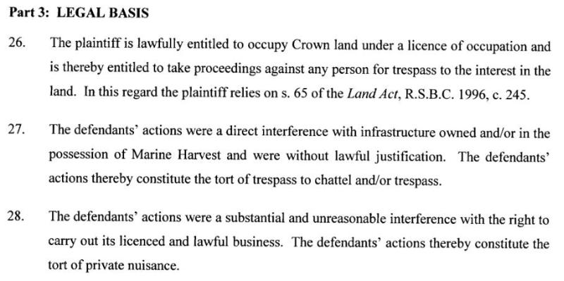 MH sues legal basis