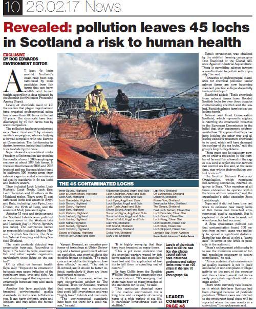 Sunday Herald 26 Feb 2017 Full page