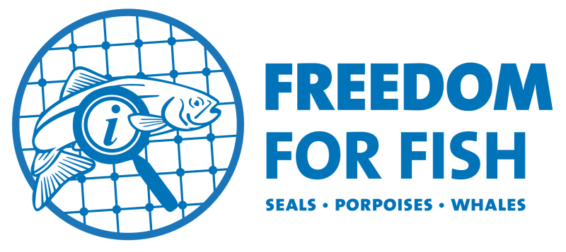 Logo with seals whales porpoises
