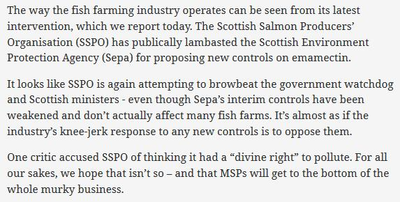 Sunday Herald 1 July 2017 Editorial #2