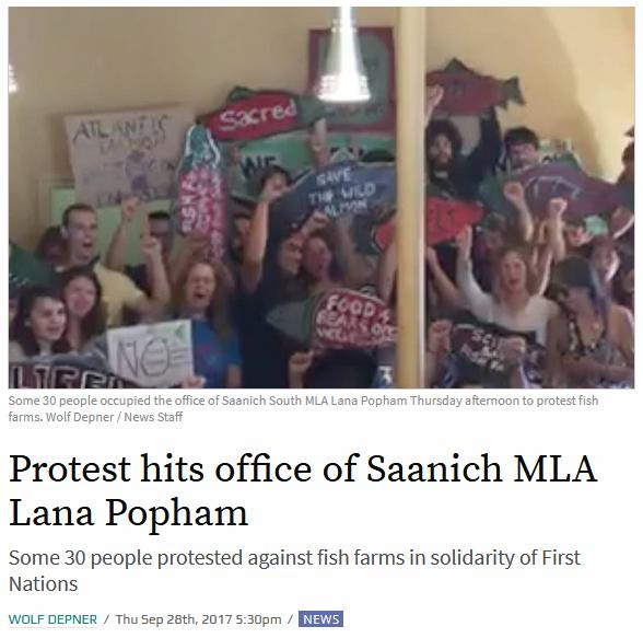 Popham protest