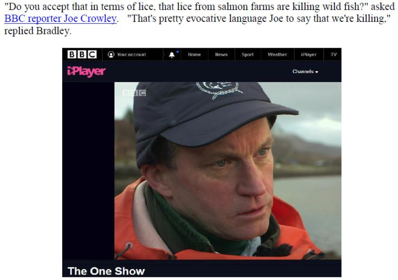 PR BBC Lifts Lid on Dead Salmon Run 13 Dec 2017 #4