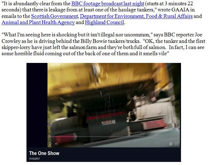 PR BBC Lifts Lid on Dead Salmon Run 13 Dec 2017 #6