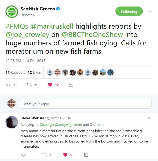 Tweet Scottish Greens