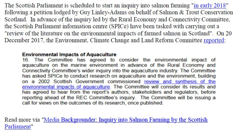 PR Scottish Salmon Farming 101 #2