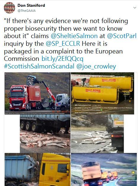 Tweet SP #7 biosecurity