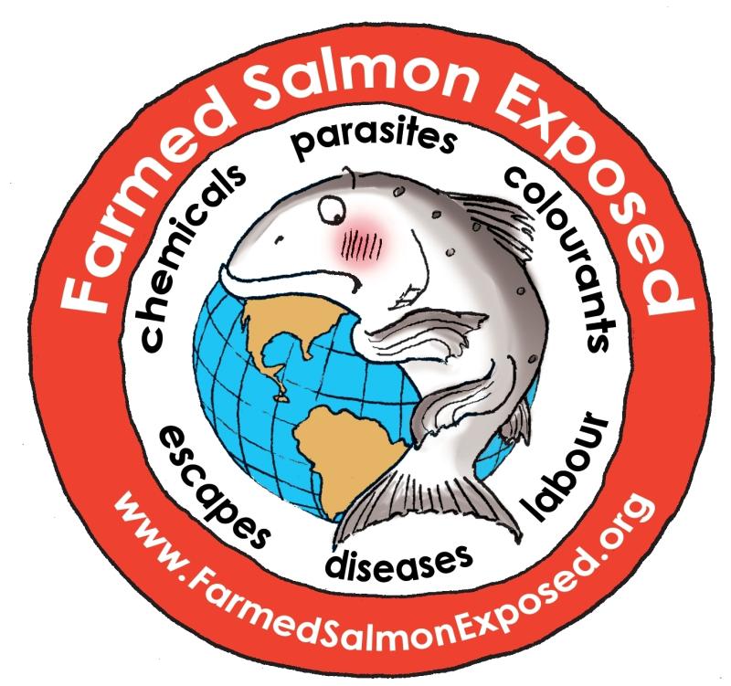 Farmed Salmon Exposed logo