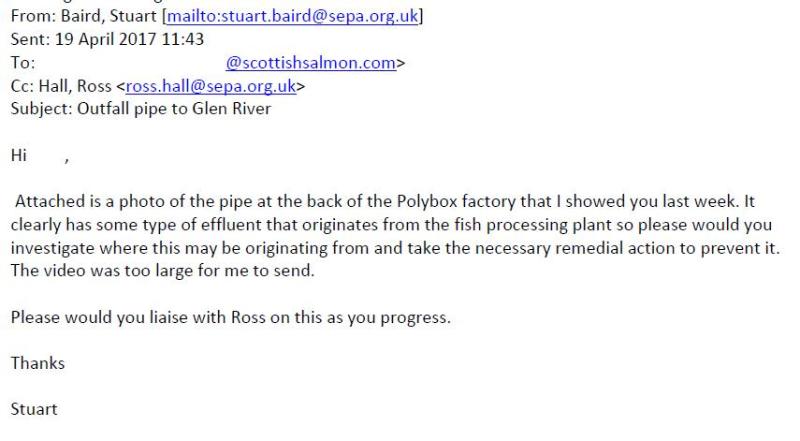 Marybank SEPA email 19 April 2017